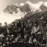 1970г., ноябрь, Варзоб. Политехи-второразрядники