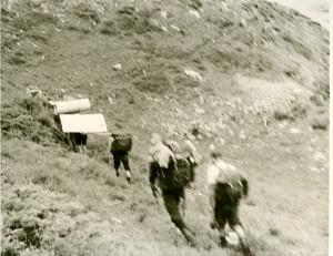 1968г подброска материала на аксайскую хижину