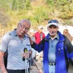 Председатель Федерации Альпинизма КР Леван Маркович Алибегашвили и ветеран Сергей Адаманов